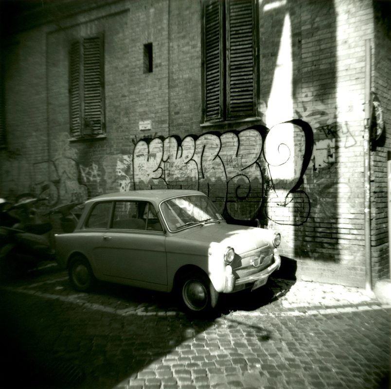 Italian-Car-with-Grafitti---Version-2